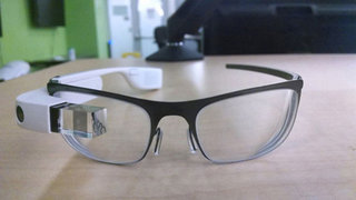 New Google Glass spotted with prescription lenses attached