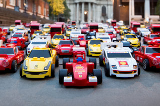 Win: The full set of limited-edition LEGO cars from the Shell partnership