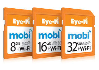 Eye-Fi Mobi automatically sends your camera photos to your phone or tablet wirelessly
