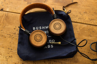 Bushmills Grado headphones blend whiskey barrels and Elijah Wood for exquisite results