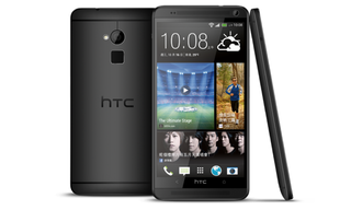 HTC unveils HTC One Max in black, which makes fingerprint sensor more subtle
