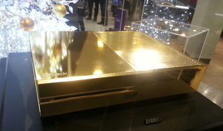 Can't find the Xbox One in stock? Harrods has a gold-plated version for £6,000