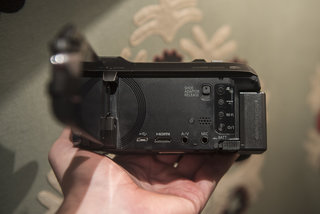 panasonic w850 hands on camcorder adds second camera for video selfies in bid to stay relevant image 4