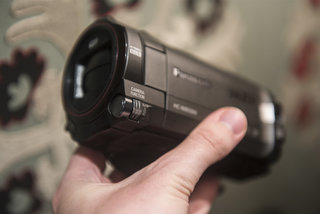 panasonic w850 hands on camcorder adds second camera for video selfies in bid to stay relevant image 5