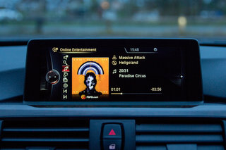 hands on rara music streaming in bmw 4 series coupé review image 7