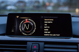 hands on rara music streaming in bmw 4 series coupé review image 8