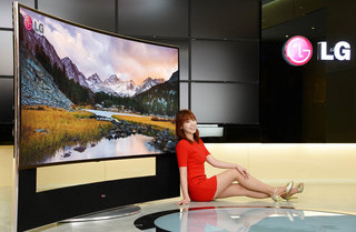 105-inch Ultra HD 21:9 curved HDTVs to rule CES, from LG and Samsung