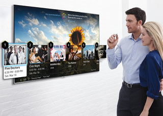 Samsung Smart TVs get finger gesture and improved voice controls