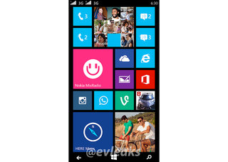 Nokia Lumia Moneypenny dual-SIM smartphone leaks in screenshot