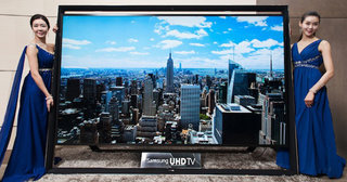 samsung shows off the world's largest 110 inch ultra hd tv due to go on sale on monday image 2