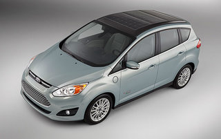 Solar-powered C-Max Solar Energi Concept car to be shown off by Ford at CES next week
