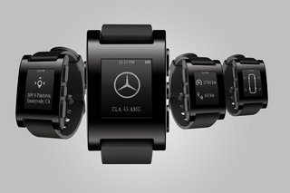 mercedes benz and pebble partnership brings smartwatch features to your car image 2