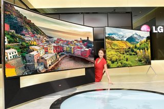 LG unveils 65, 79, 84 and 98-inch 4K Ultra HD LED TVs, along with 105-inch curved behemoth