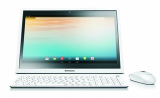 Tablet or desktop? Lenovo releases 19.5-inch Android all-in-one