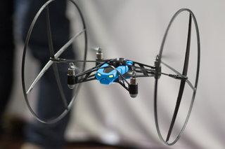 Parrot MiniDrone and Leaping Sumo remote control bots tear up CES 2014