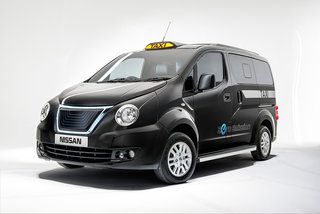 Fully electric Nissan Black Cab to hit London in 2015, redesigned NV200 petrol model will arrive in 2014