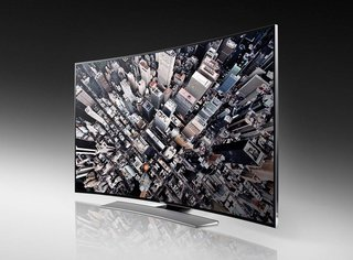 Samsung bets the farm on UHD TVs, including U9000 curved 4K consumer set