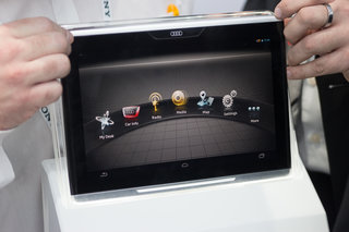 Hands-on: Audi Smart Display 10.2-inch tablet to control your radio from the backseat (video)
