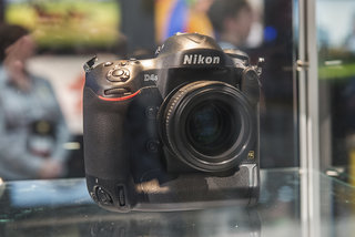 Nikon D4S in pictures: Top-spec camera eyed behind glass at CES trade show