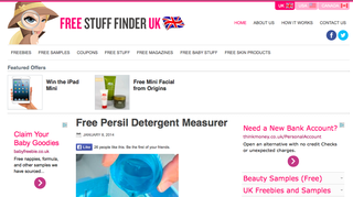 Website of the day: Free Stuff Finder