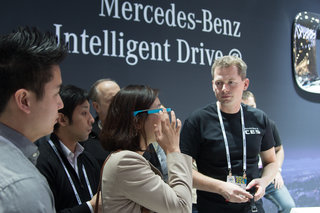 hands on with mercedes pebble and mercedes google glass app image 4