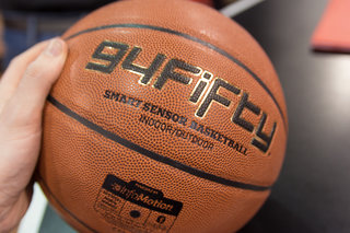 94Fifty Smart Basketball is designed to help you improve your court skills
