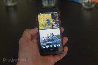 HTC Desire 601 in red available exclusively on O2