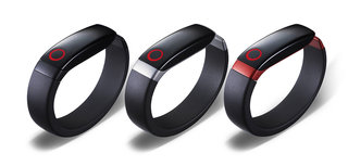 LG Lifeband Touch and Heart Rate Earphones official, take on Nike FuelBand but with extra features