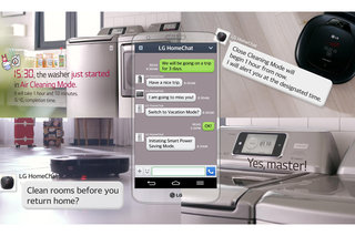 LG launches HomeChat service allowing you to text your appliances