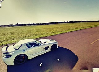 Top Gear's test track appears on Google Maps Street View