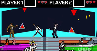 Pulp Fiction remade as an 8-bit game... in video form anyway