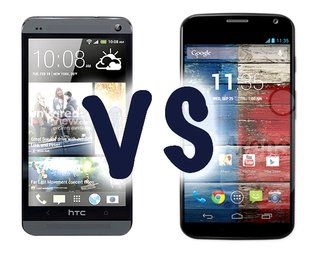 Moto X vs HTC One: What's the difference?
