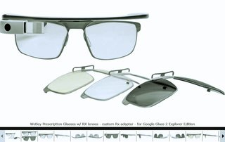 OpticsPlanet's Wetley GGRX becomes first prescription lens adapters for Google Glass