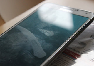 Warning to Samsung Galaxy Note 3 owners with greasy mitts, clean your screen or reveal your PIN