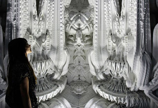 Astonishing 3D printed room was even designed by a computer