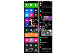 nokia normandy android ui looks like windows phone if leaked pics are anything to go by image 2