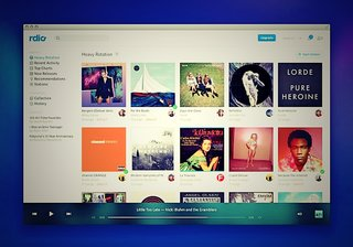 Rdio on the web goes free in the US, offers unlimited streaming at no charge but with ads