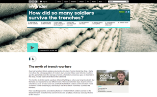 bbc launches iwonder interactive guides starting with dedicated content for its world war one season image 4