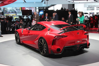toyota ft 1 gran turismo 6 concept car makes real word appearance at detroit show image 5