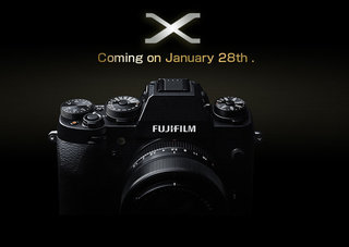Fujifilm X-T1 camera teased before a 28 January unveil
