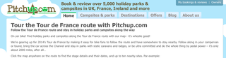 Website of the day: Pitch Up - Tour De France