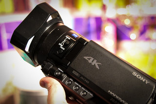 sony fdr ax100e we go hands on with the 4k handycam that could change tv forever image 7