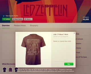 Spotify now lets artists list and sell merchandise - and it won't take fees or commission