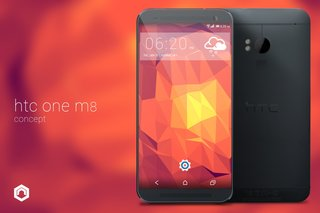 HTC One (M8) concept cuts bezel and loses capacitive buttons