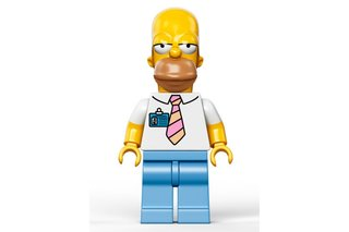 Lego confirms May release for The Simpsons minifigs, for those who can't afford the £179 house
