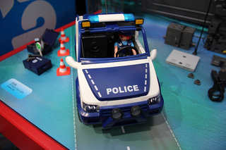 Hands-on: Playmobil Police Car with Camera puts CCTV in your play room