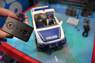 hands on playmobil police car with camera puts cctv in your play room image 5
