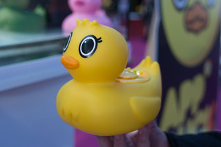 App Duck: The Bluetooth rubber duck that helps you listen to music in the bath