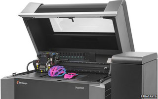 Stratasys 3D printer first to create multicoloured, flexible materials