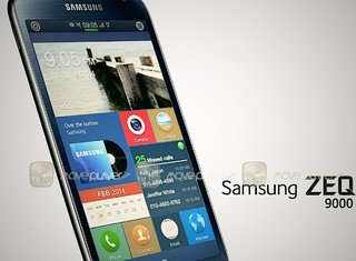 Samsung's first Tizen smartphone shown off in leaked photo, revealing 4.8-inch HD display